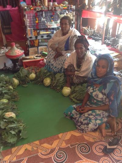 groenten voor HIV-dames